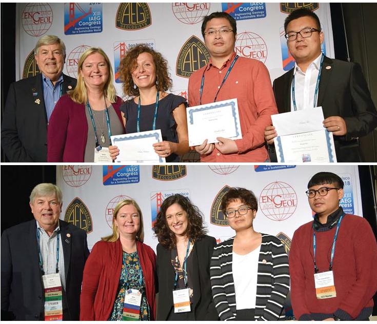 Chiara Avataneo and Dr. Jasmine R. Petriglieri win Best Poster Award at XIII IAEG International Conference at San Francisco, USA.